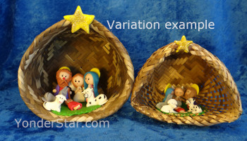 Ecuadorian nativity set