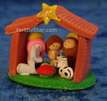 Mazapan nativity scene
