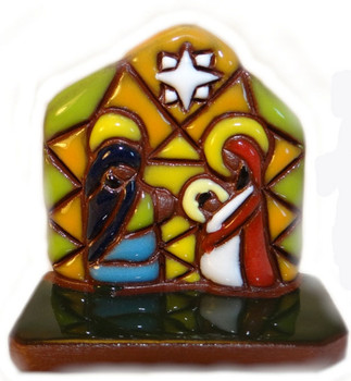 Bolivian nativity scene
