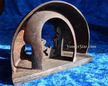 Cambodian nativity set