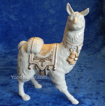 Llama First Blessing Lenox Nativity Set