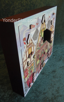 Heirloom Wooden North Pole Advent Calendar  - Byers' Choice