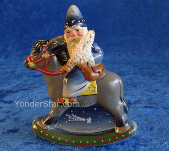 2019 Starlight Santa by Vaillancourt Folk Art