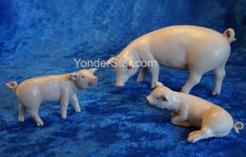 Fontanini nativity pigs