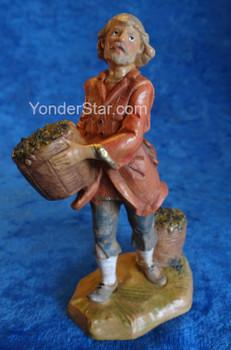 Fontanini nativity wine maker