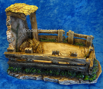 "Sheep Shelter - 5"" Scale Fontanini Nativity - 55605"