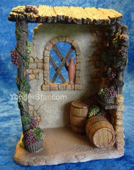 "Wine Shop - 6.75"" Fontanini 5"" Scale Nativity 55602"