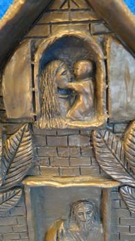 Stone Nativity Sculpture Made in USA
