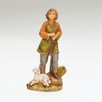 Fontanini nativity Paul shepherd