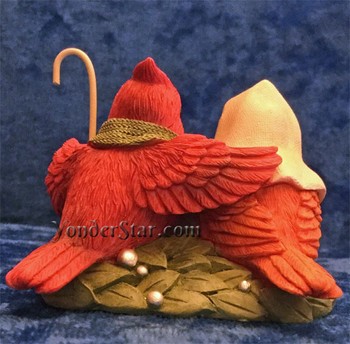 Bird Nativity Scene