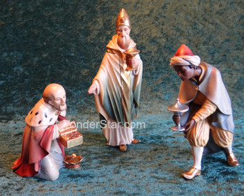 LEPI Venetian Nativity Three Wisemen - 16cm Scale
