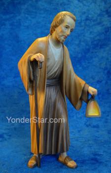 LEPI Venetian Nativity Joseph Standing w Lantern 16cm Scale