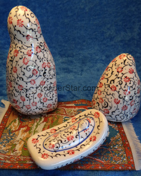 Turkish Nativity Set with Carnations