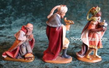 LEPI Reindl Nativity Wisemen - 3 piece