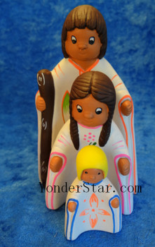 Pisac nativity set