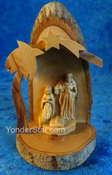 Olive Wood Nativity Scene - Hand Made in Palestine