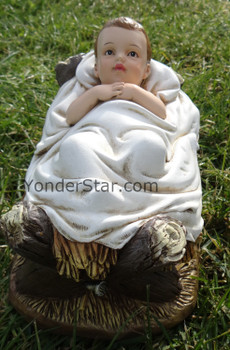 Classic Outdoor Nativity Set Baby Jesus by Josephs Studio