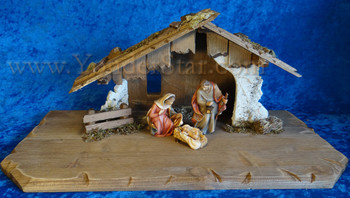 Nazarene Nativity Scene
