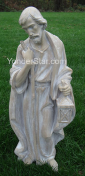 "34"" Large Outdoor Nativity Set Faux Wood Finish 633220"