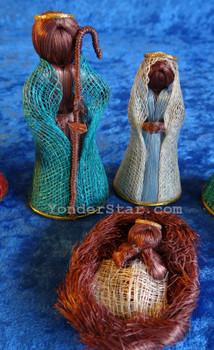 Coco Fiber and Abaca Nativity Set Philippines