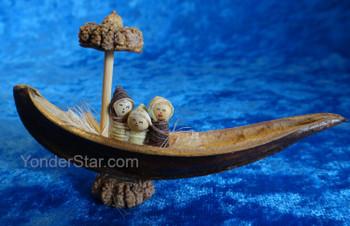 Basul Tree Pod Nativity from Ecuador