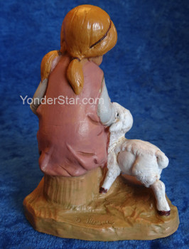 "Beth - 12"" Fontanini Nativity Girl Seated 52927"