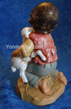 """David - 12"""" Fontanini Nativity Boy Kneeling 52928"""