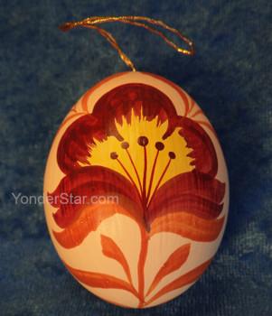 painted egg nativity