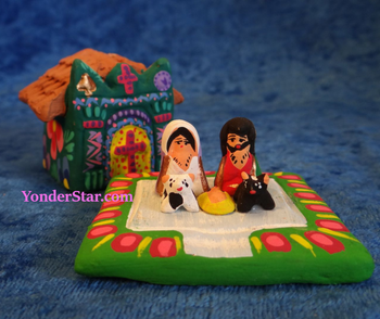 Guatemalan Church Nativity Set