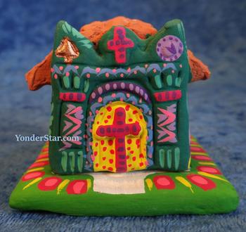 Colorful Guatemalan Nativity Set
