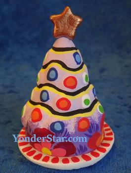 Guatemalan nativity tree