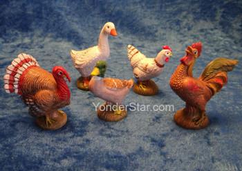 "Birds of Bethlehem for 7.5"" Fontanini - 52822"
