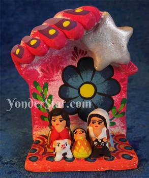 Christmas crib Guatemala Mayan