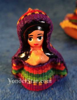 Guatemalan fabric nativity scene