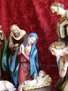 Josephs Studio Nativity Scene