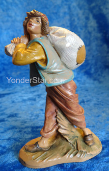 "Felix - 5"" Fontanini Nativity Storyteller with Sack - 72690"