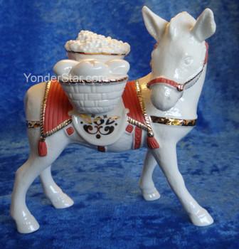 Donkey w Basket First Blessing Lenox Nativity Set - Pre-Order
