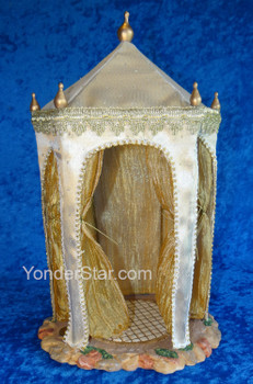 "14"" Kings Tent for 7.5"" Fontanini Nativity Wiseman 50791"