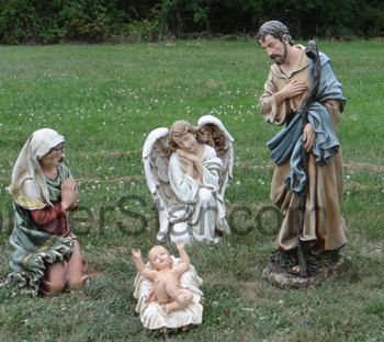 Outdoor nativity scene large