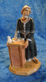 "Zacchaeus - 5"" Fontanini Nativity Tax Collector"