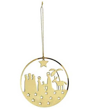 Swedish nativity scene ornament