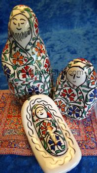 Fritware nativity scene Turkey