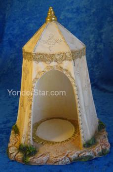 "King's Tent Ivory for 5"" Fontanini Nativity 55615"