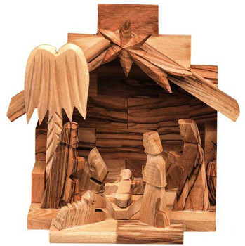 Nativity scene Israel Olive Wood