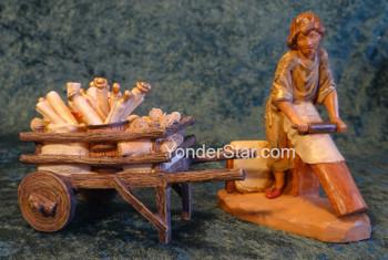 """Parchment Maker Scene - 5"""" Fontanini Nativity s55618"""