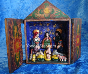 Retablo nativity