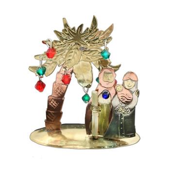 palm nativity scene Thailand