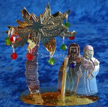 Thailand Palm Nativity Scene