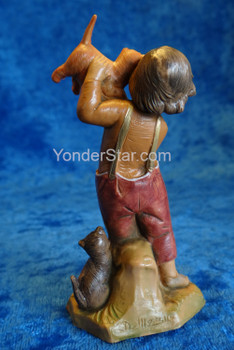 "Seth - 5"" Fontanini Nativity Boy with Cats 59812"