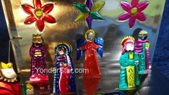 Pop-Up Nativity Scene Made in Guanajuato Mexico